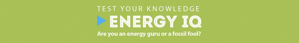 Energy IQ Quiz