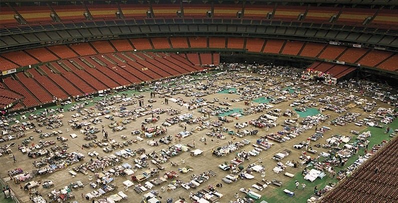 Hurricane Katrina: 2005