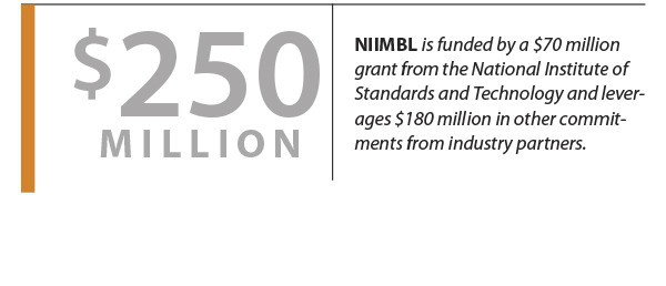NIIMBL is funded by a $70 million grant from the National Institute of Standards and Technology and leverages $180 million in other commitments from industry partners.