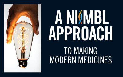 A NIIMBL Approach To Making Modern Medicines