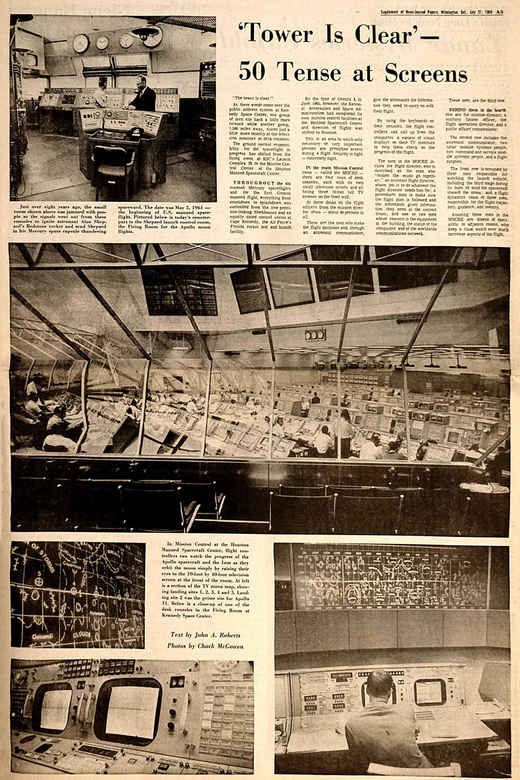 1969 – The Morning News: Man Steps onto Moon   University of