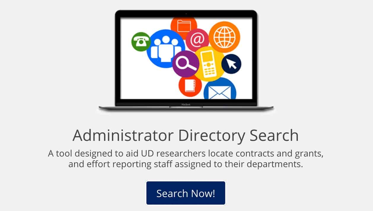 Research Administrator's Directory Search