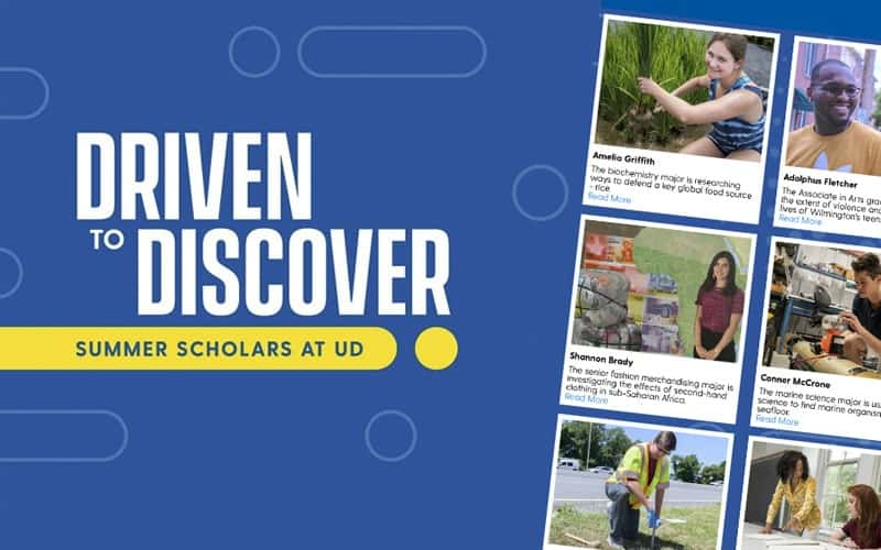 Driven to Discover UD Summer Scholars Program