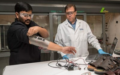 Novel sensors could enable smarter textiles