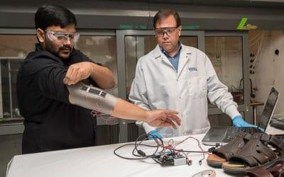 Novel sensors could enable smarter textiles
