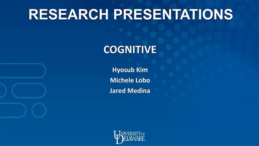 cognitive slides