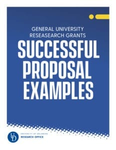 GUR Successful Proposal Examples