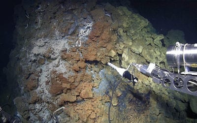 Minerals under water