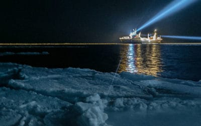 Artificial light in the Arctic