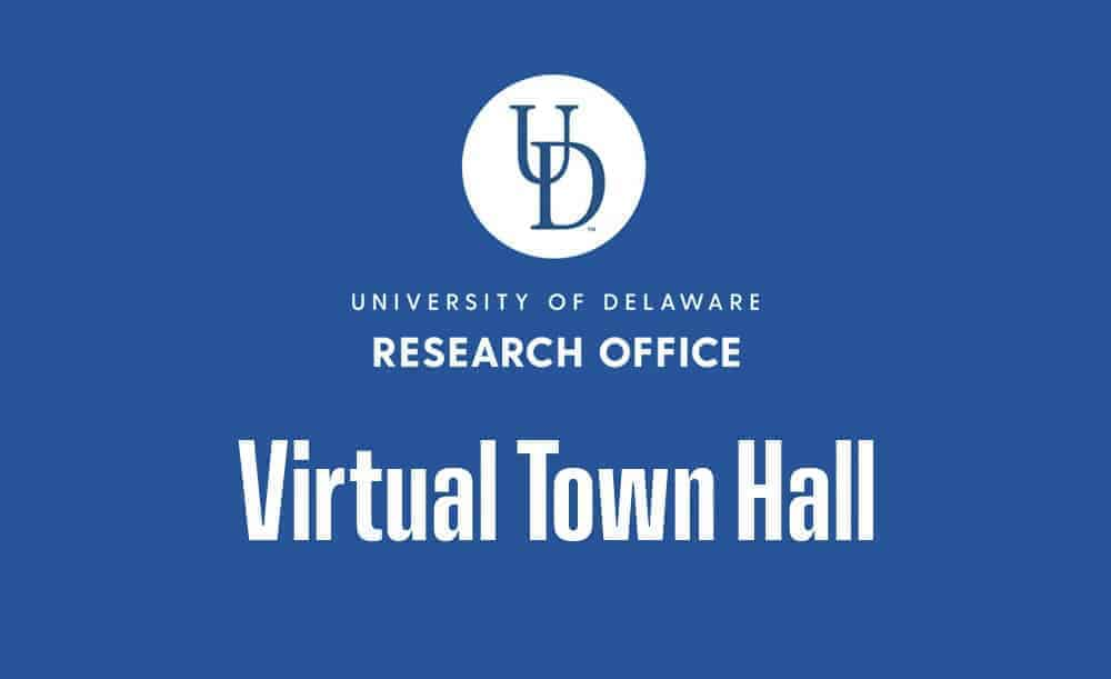 Research Office Virtual Town Hall