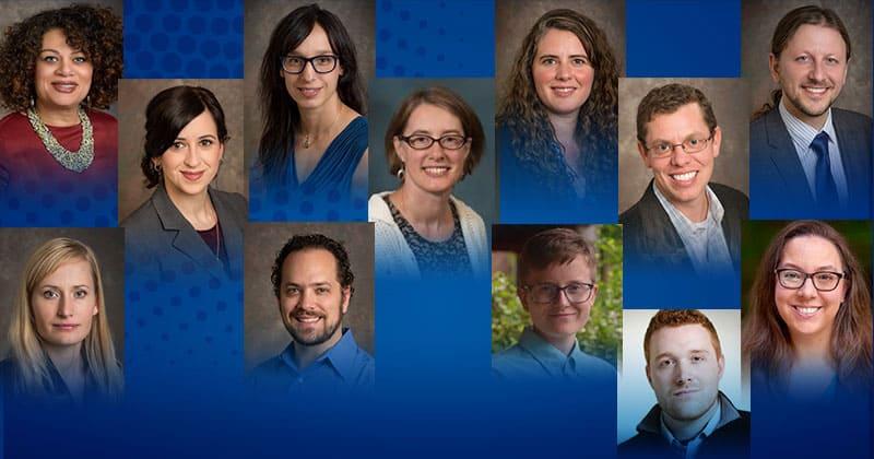 12 receive General University Research grants