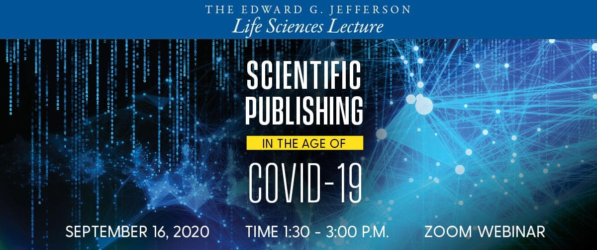 Scientific Publishing in the age of COVID-19