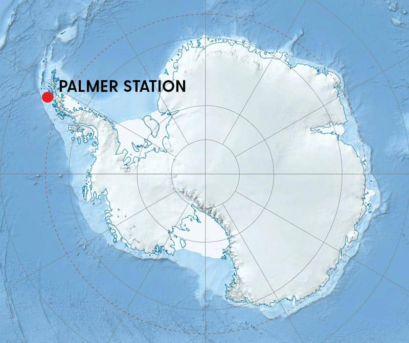 Palmer Station Location