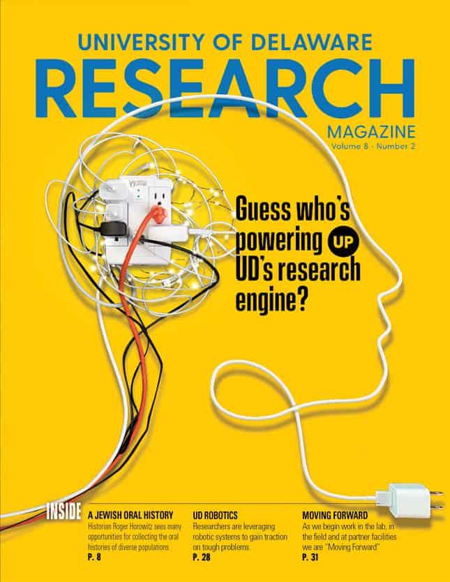 Research Magazine Cover Volume 8-2