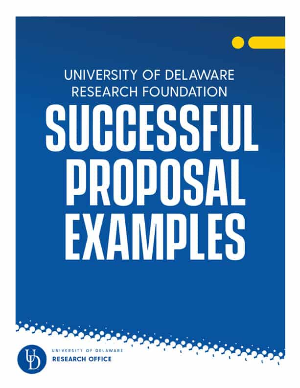 UDRF Successful Proposal Example Download