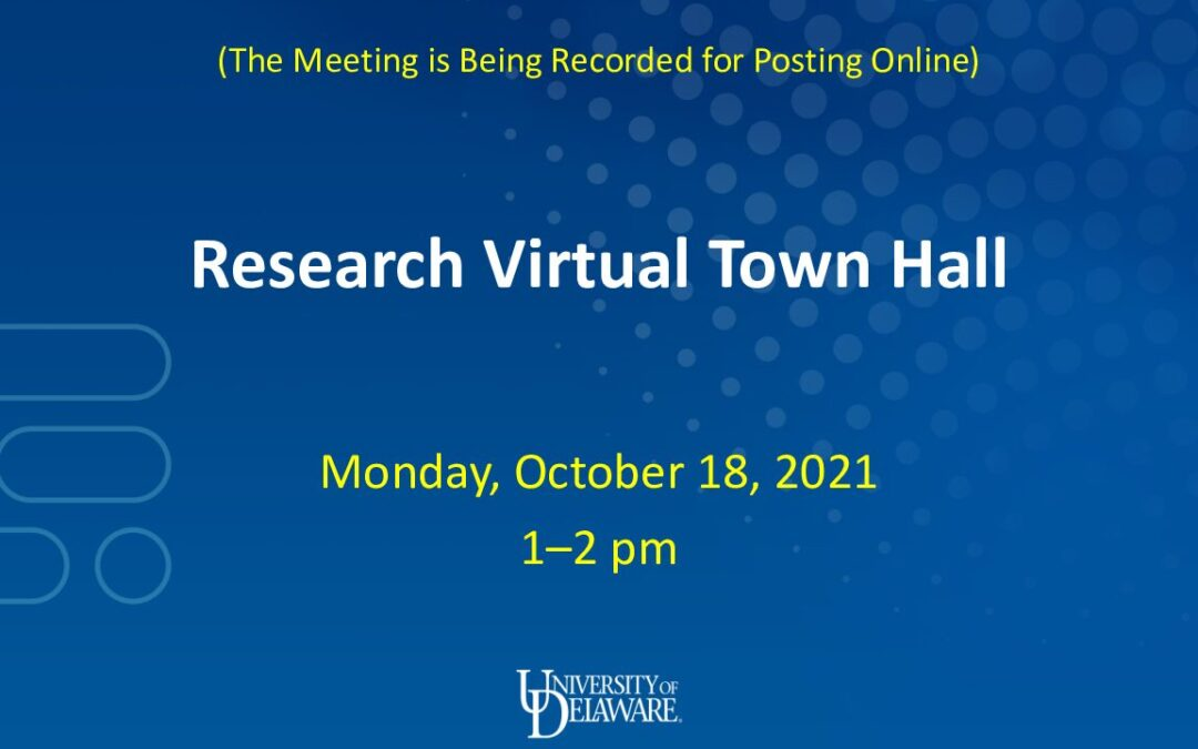 COVID-19 TownHall 10-18-21