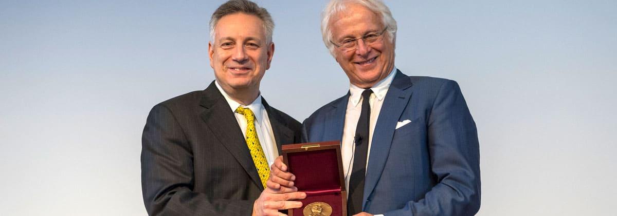 Karl W. Boer Solar Energy Medal of Merit 2018 Award Ceremony recipient Alex Zunger