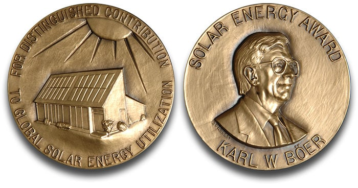 The Karl W. Böer Solar Energy Medal of Merit